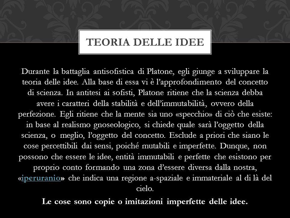 Teoria delle idee