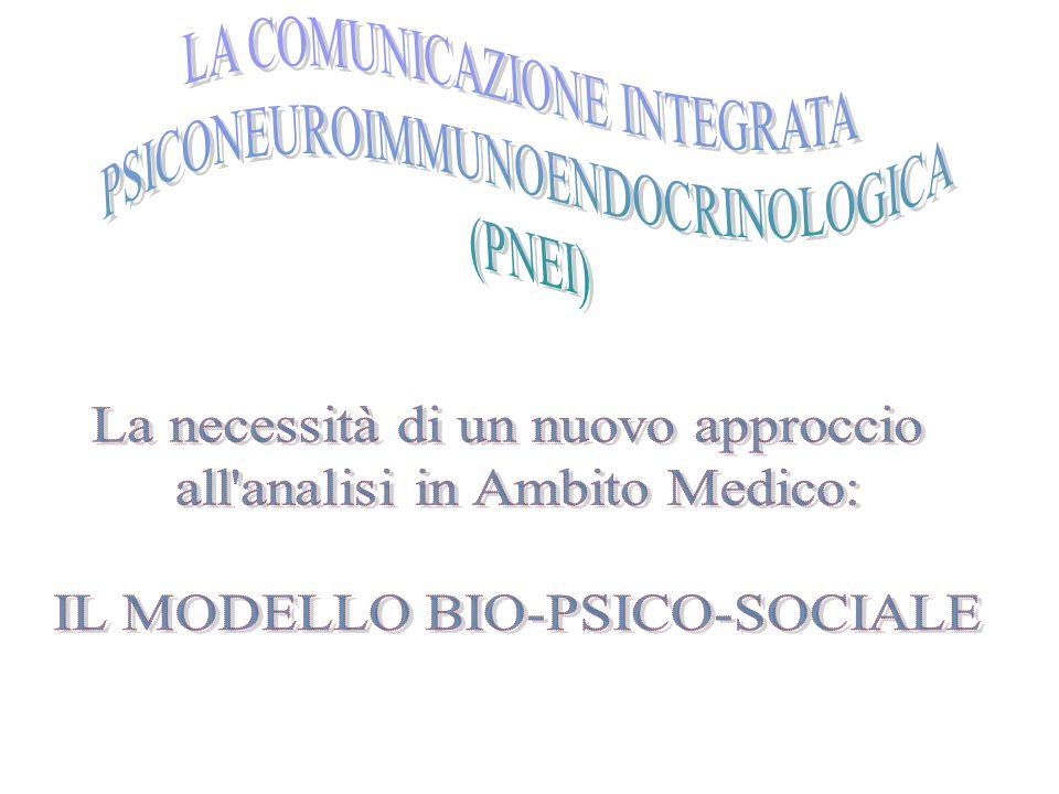 LA COMUNICAZIONE INTEGRATA PSICONEUROIMMUNOENDOCRINOLOGICA (PNEI)