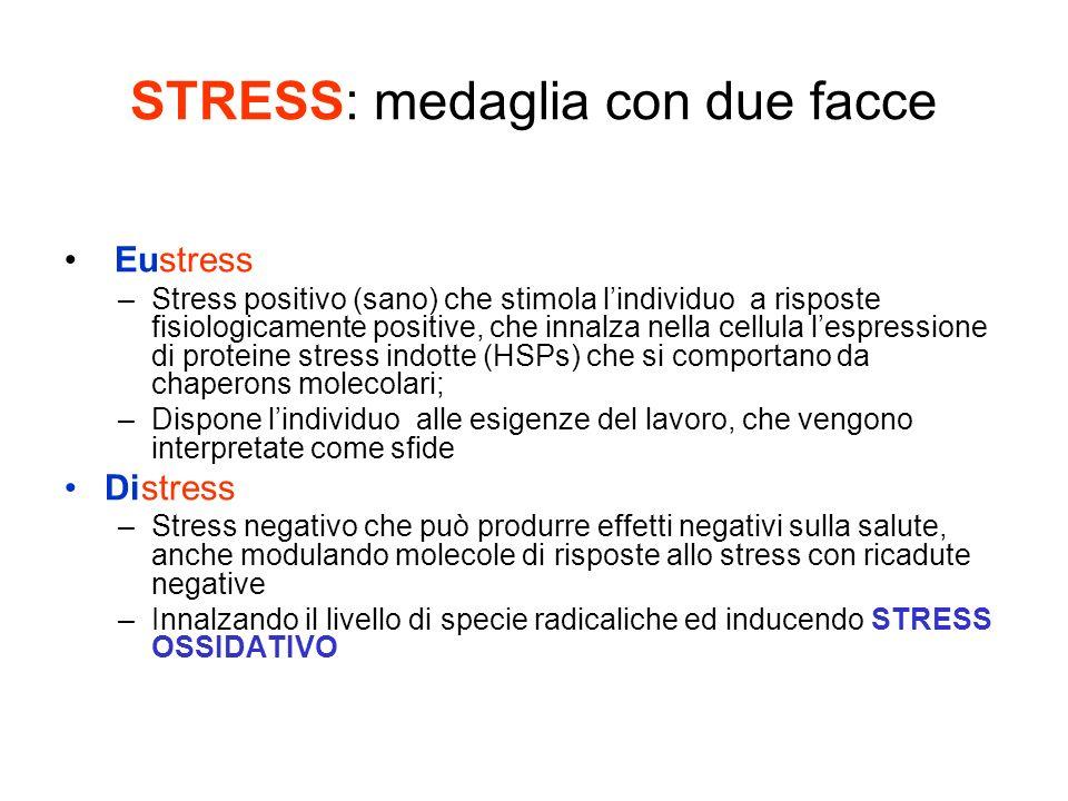 STRESS: medaglia con due facce