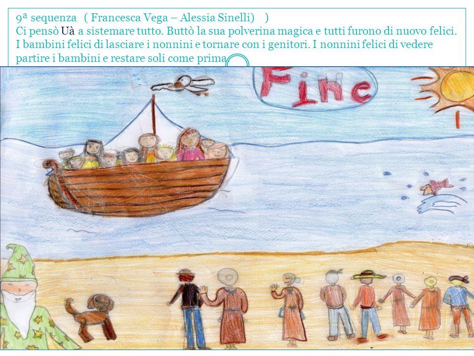 9ª sequenza ( Francesca Vega – Alessia Sinelli) ) Ci pensò Uà a sistemare tutto.