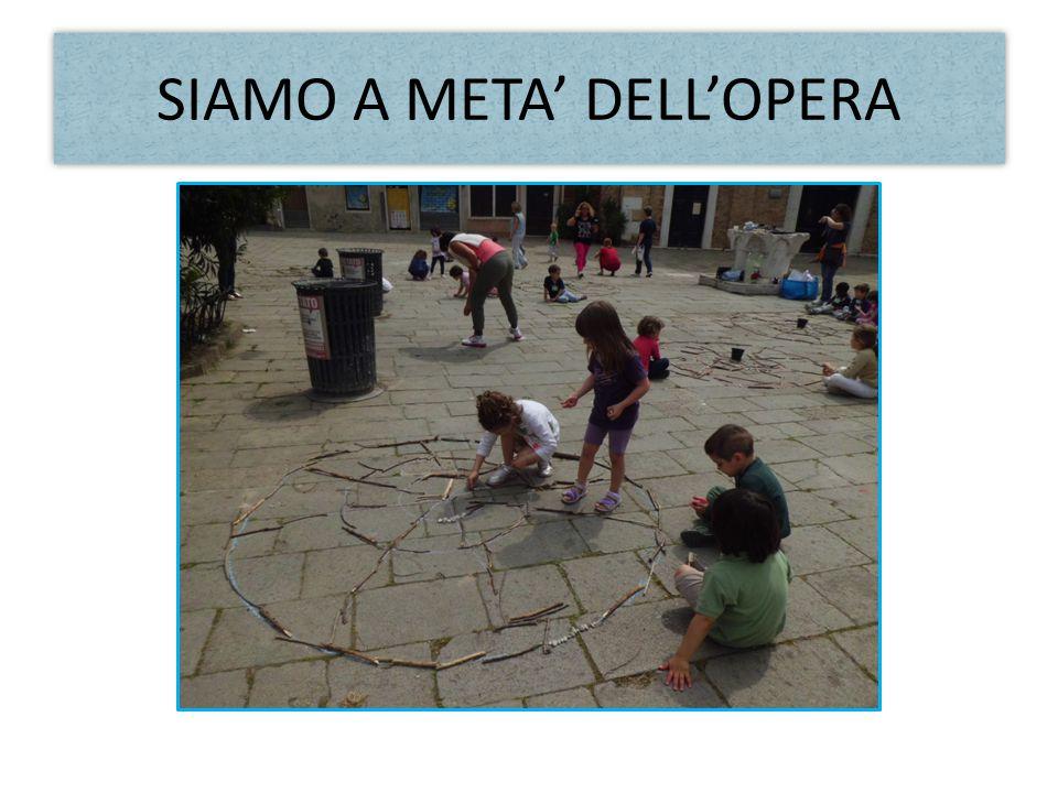 SIAMO A META' DELL'OPERA