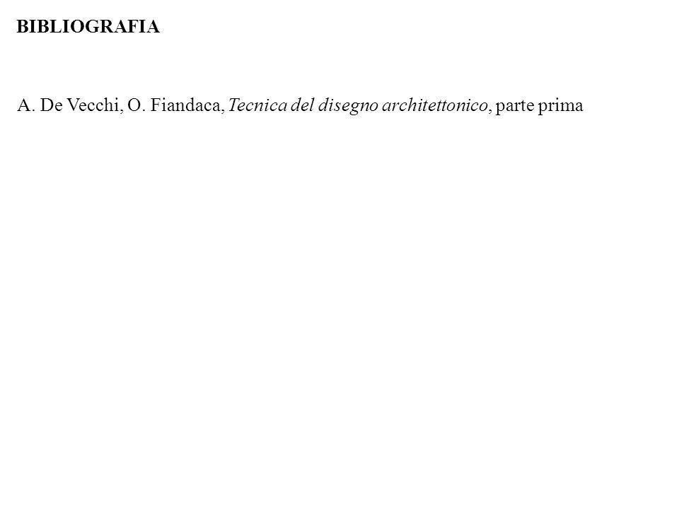 BIBLIOGRAFIA A. De Vecchi, O. Fiandaca, Tecnica del disegno architettonico, parte prima 48
