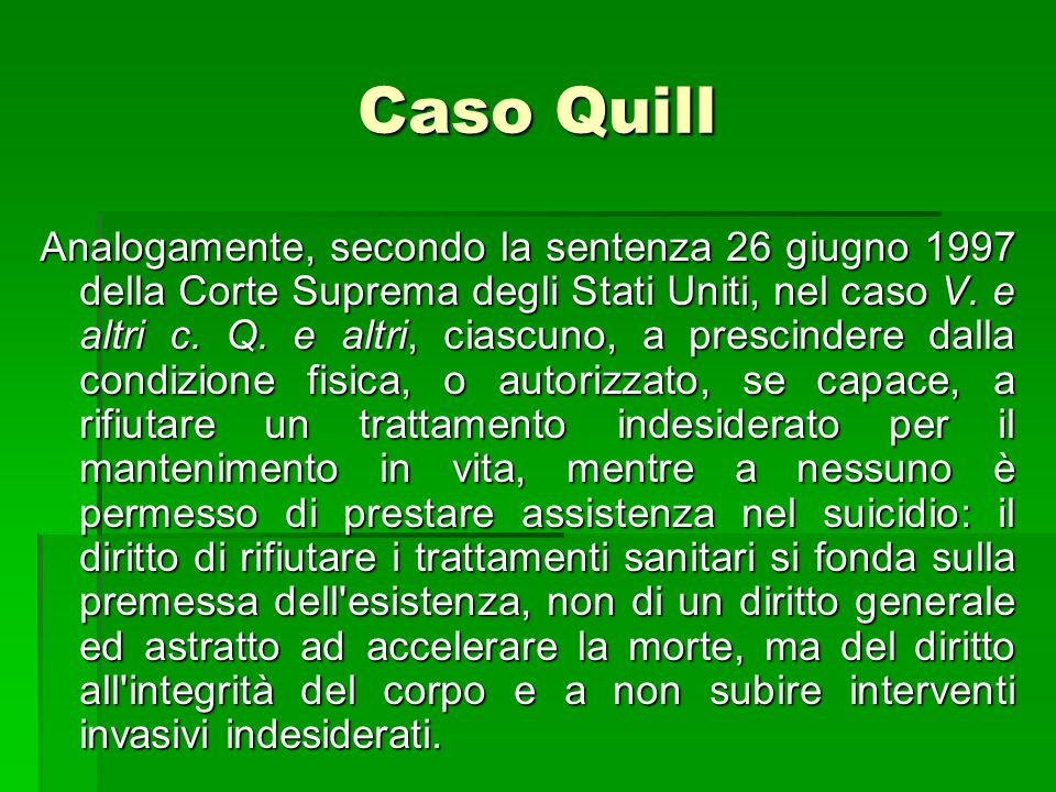 Caso Quill
