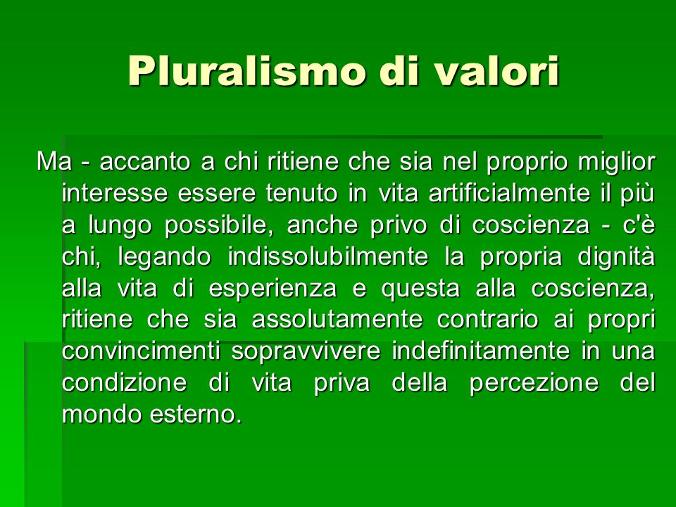 Pluralismo di valori