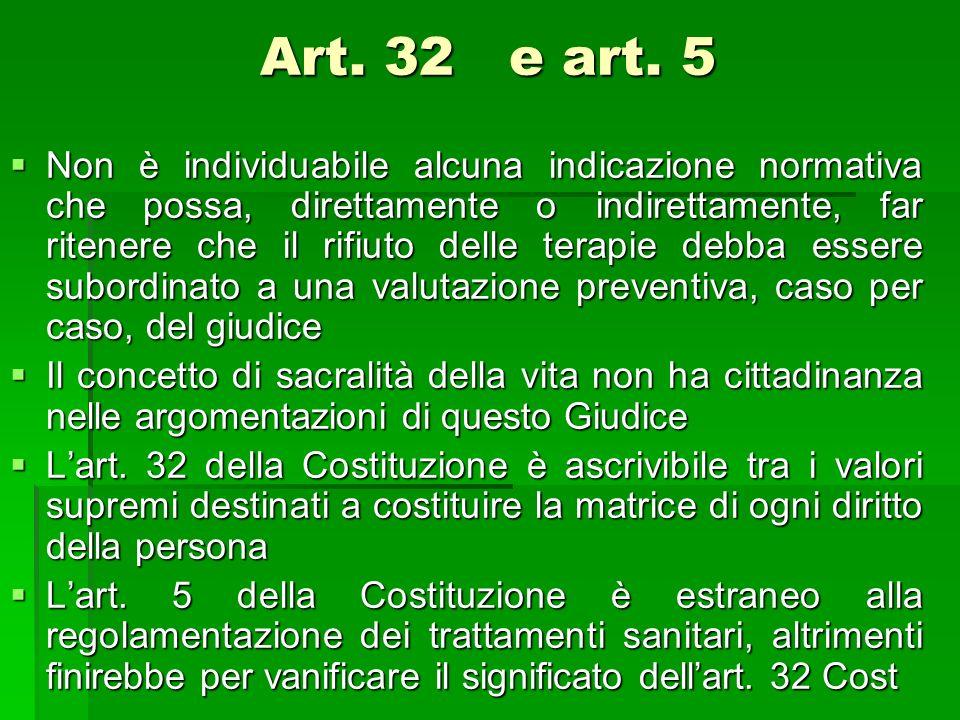 Art. 32 e art. 5