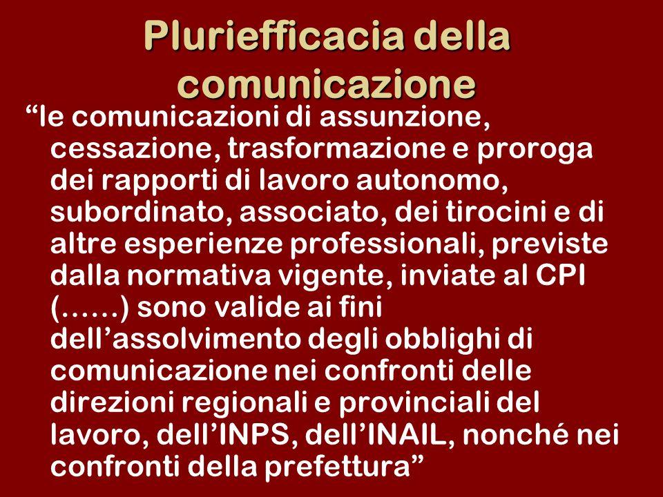 Pluriefficacia della comunicazione