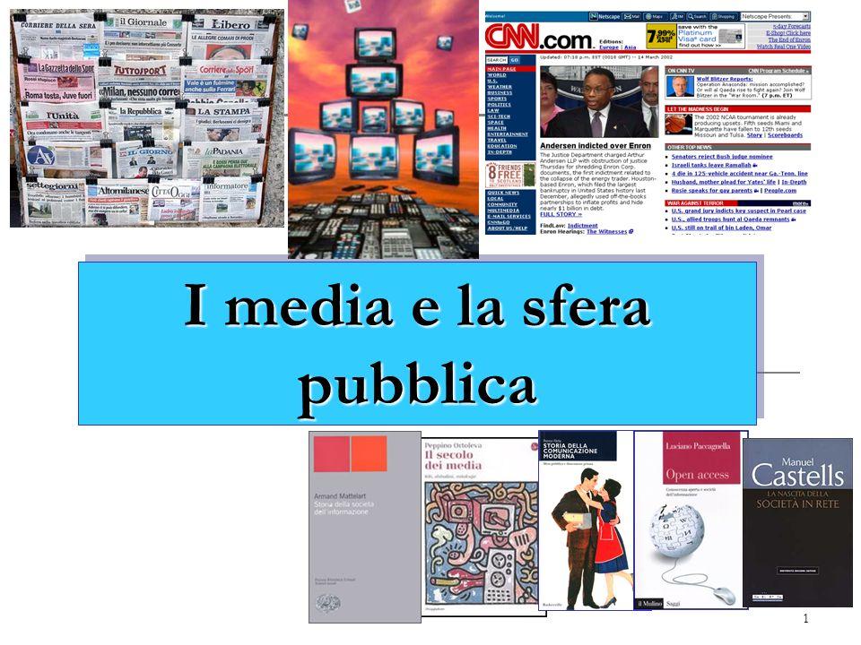 I media e la sfera pubblica