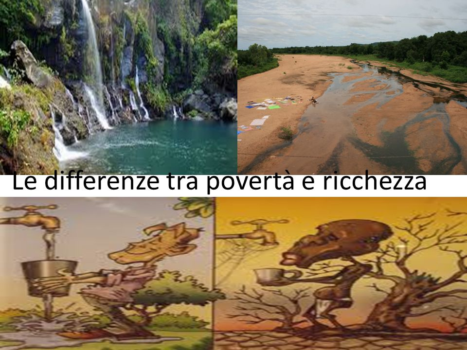 Le differenze tra povertà e ricchezza