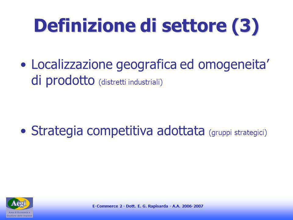 Definizione di settore (3)
