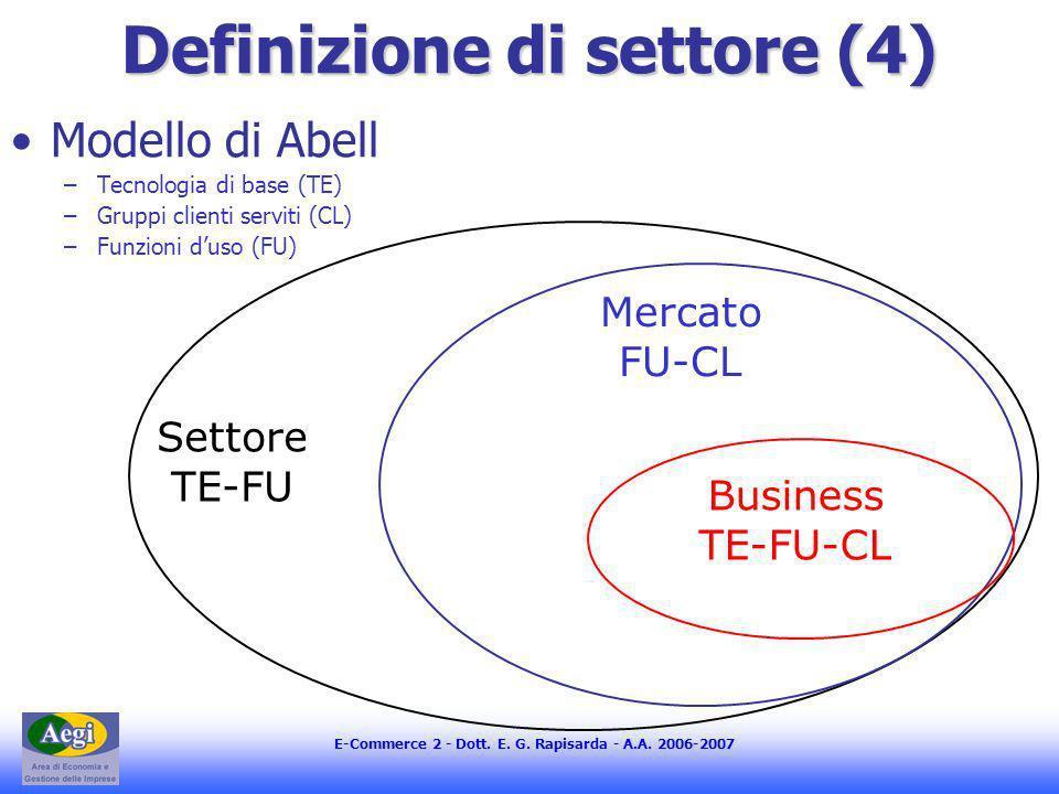 Definizione di settore (4)