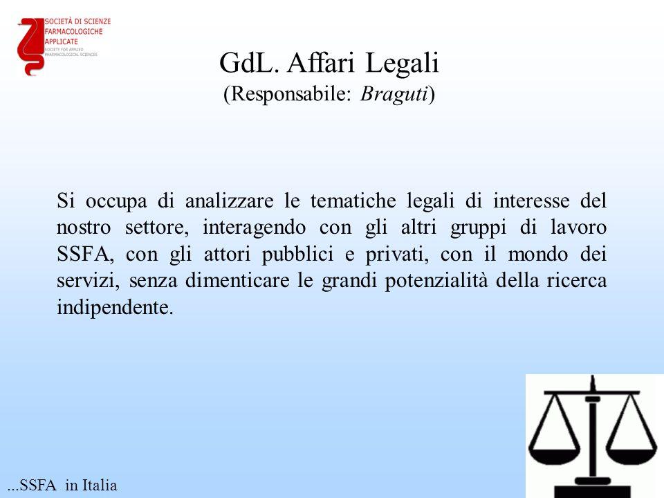 GdL. Affari Legali (Responsabile: Braguti)