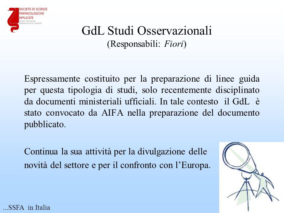 GdL Studi Osservazionali (Responsabili: Fiori)