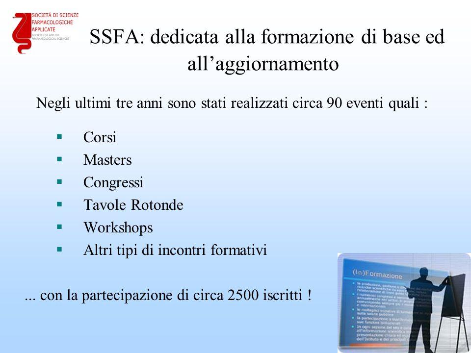 SSFA: dedicata alla formazione di base ed all'aggiornamento
