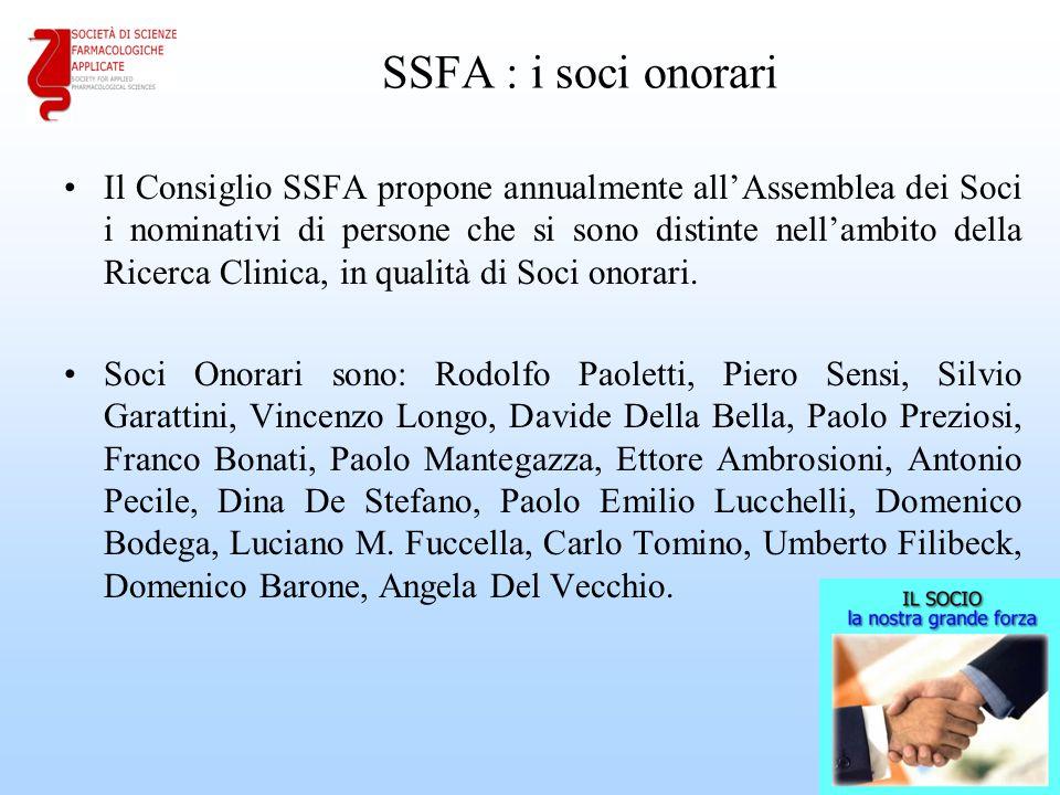 SSFA : i soci onorari