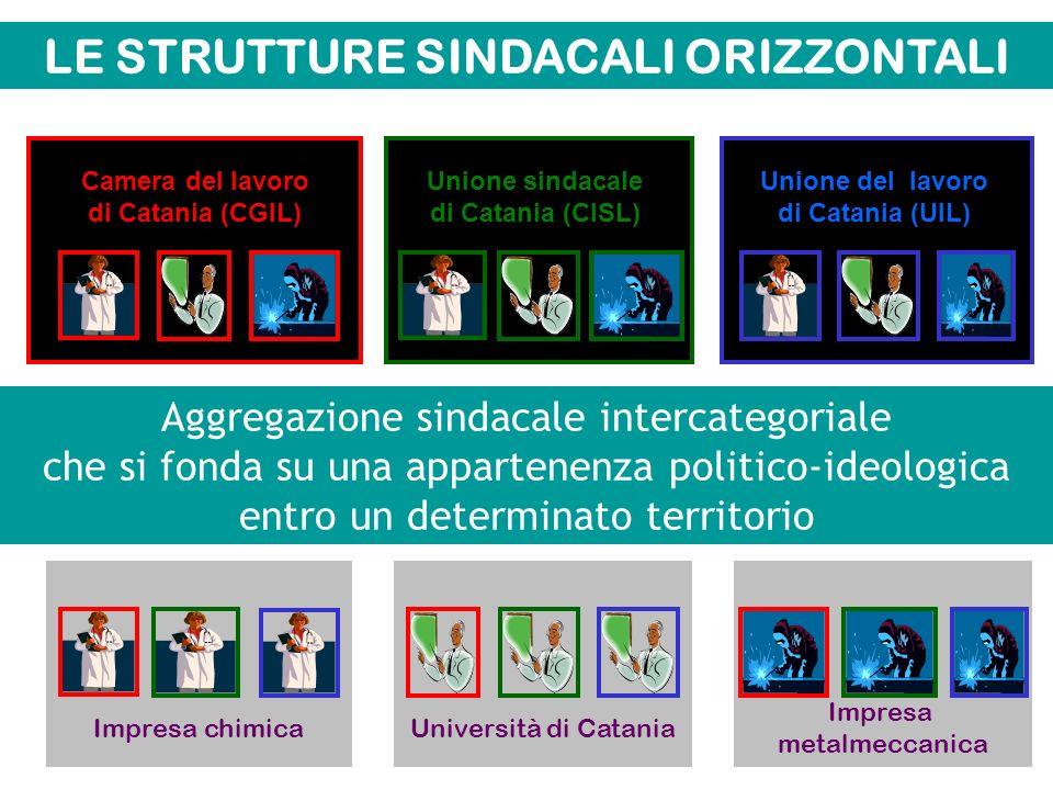 LE STRUTTURE SINDACALI ORIZZONTALI