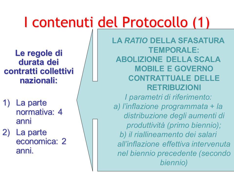 I contenuti del Protocollo (1)