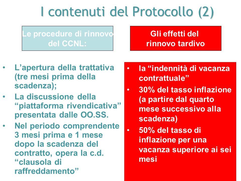 I contenuti del Protocollo (2)