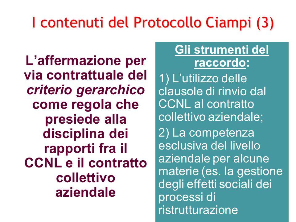 I contenuti del Protocollo Ciampi (3)