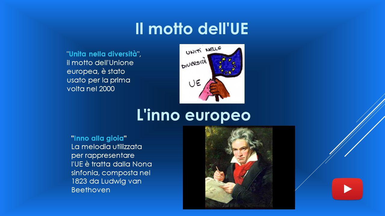 Il motto dell UE L inno europeo