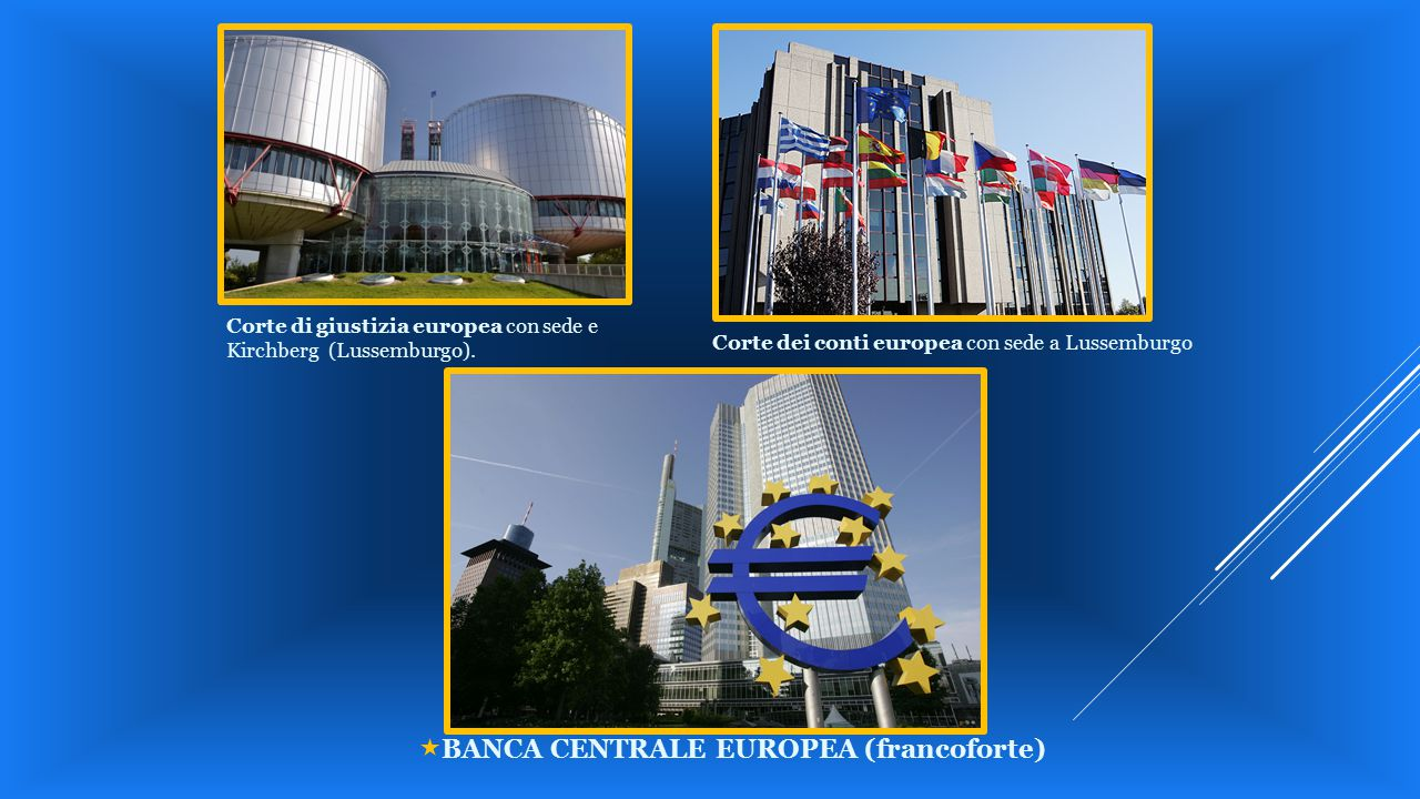 «BANCA CENTRALE EUROPEA (francoforte)