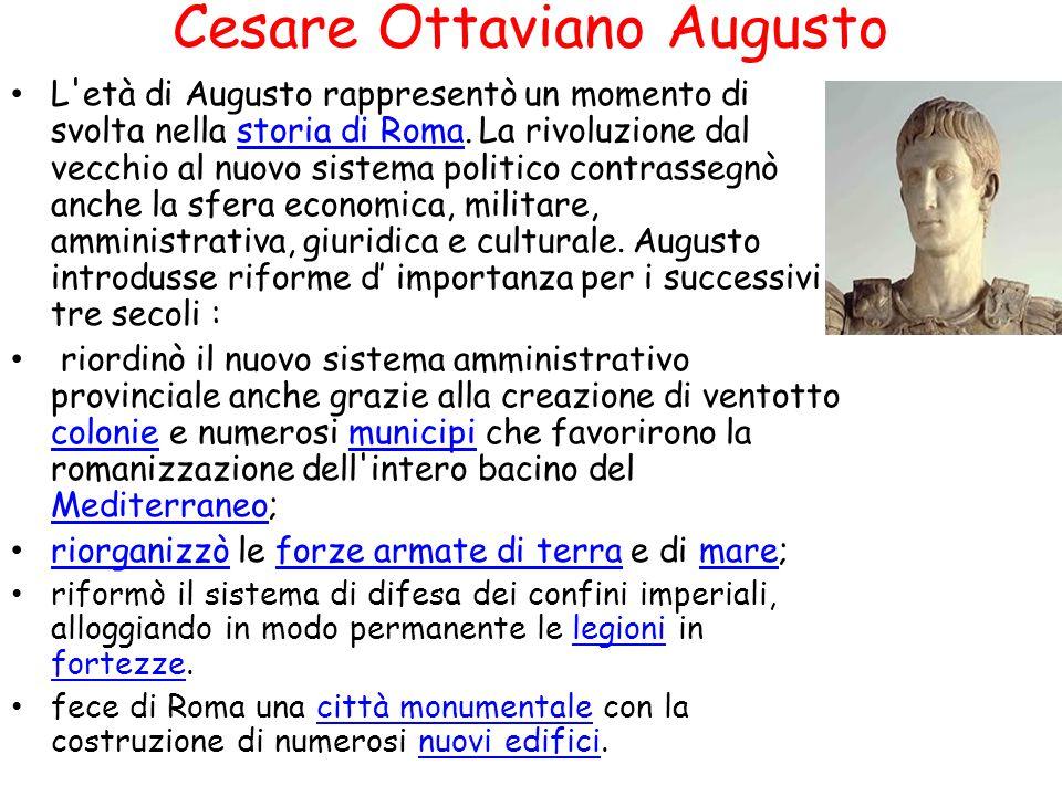 Cesare Ottaviano Augusto