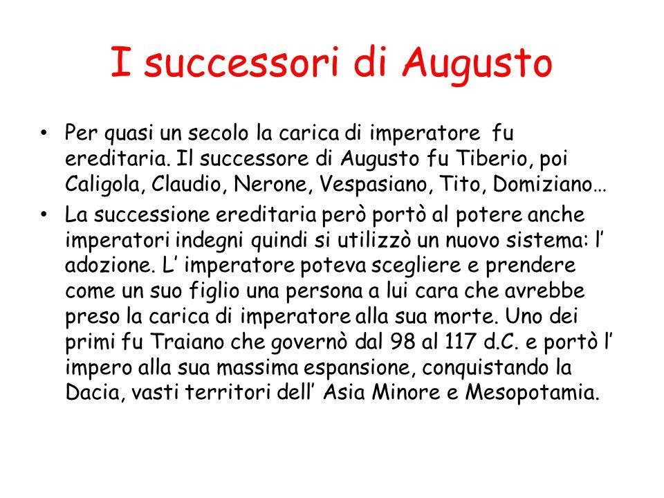 I successori di Augusto