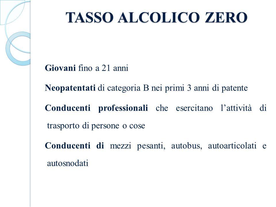 TASSO ALCOLICO ZERO