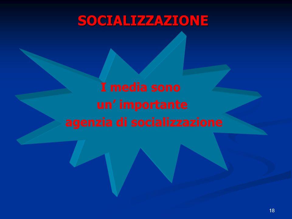 agenzia di socializzazione