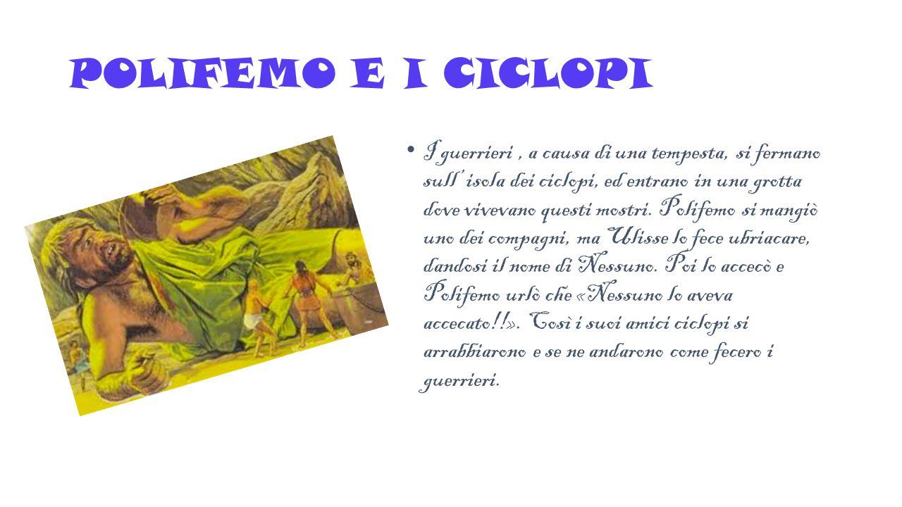 POLIFEMO E I CICLOPI