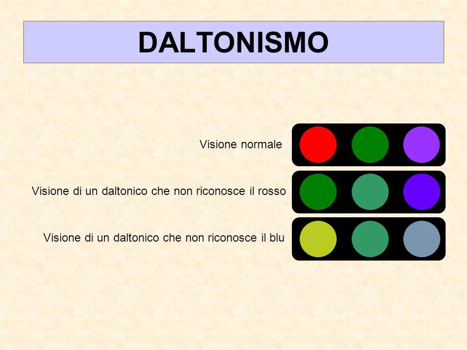 DALTONISMO Visione normale