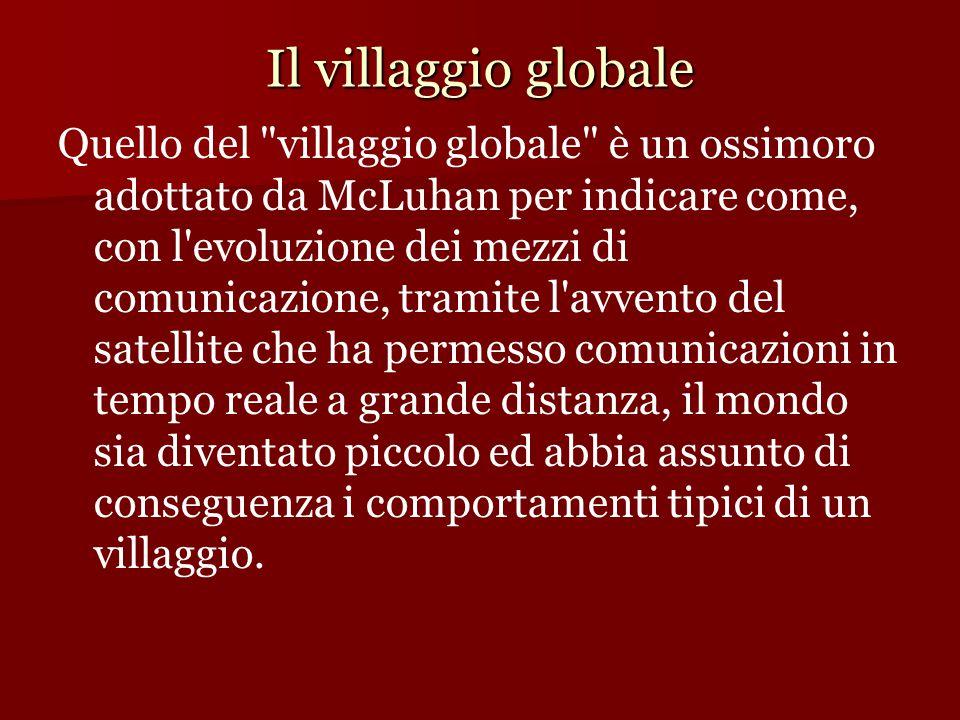Il villaggio globale