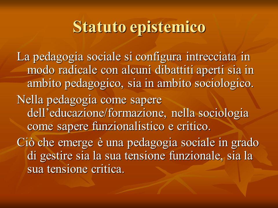 Statuto epistemico