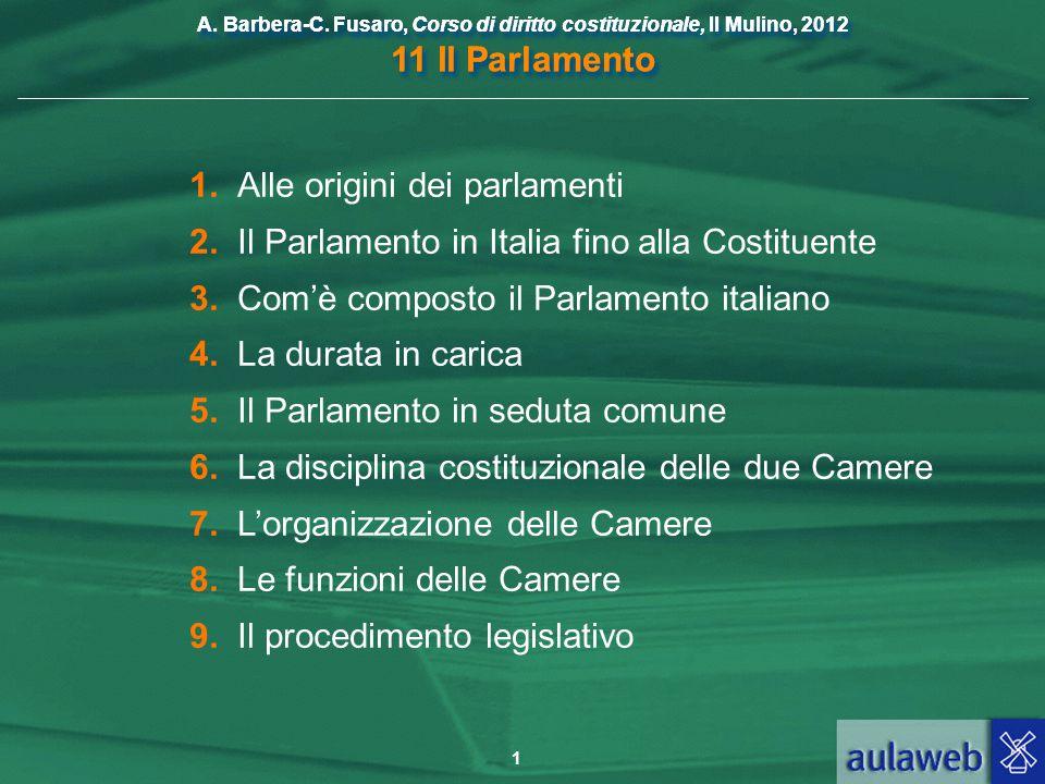 1 alle origini dei parlamenti ppt scaricare for Le due camere del parlamento