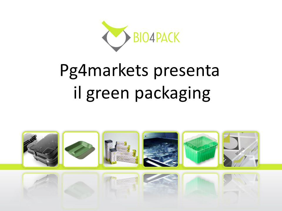 Pg4markets presenta il green packaging