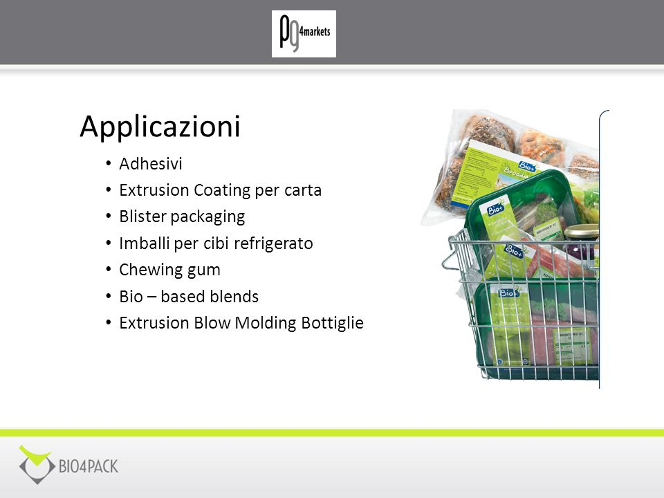 Applicazioni Adhesivi Extrusion Coating per carta Blister packaging