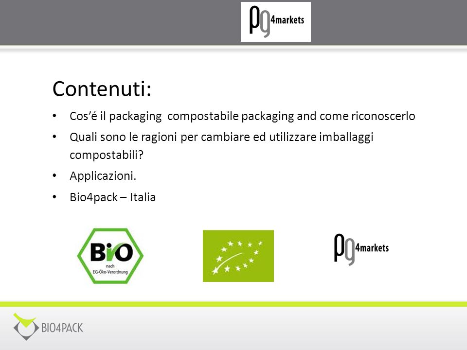 Contenuti: Cos'é il packaging compostabile packaging and come riconoscerlo.