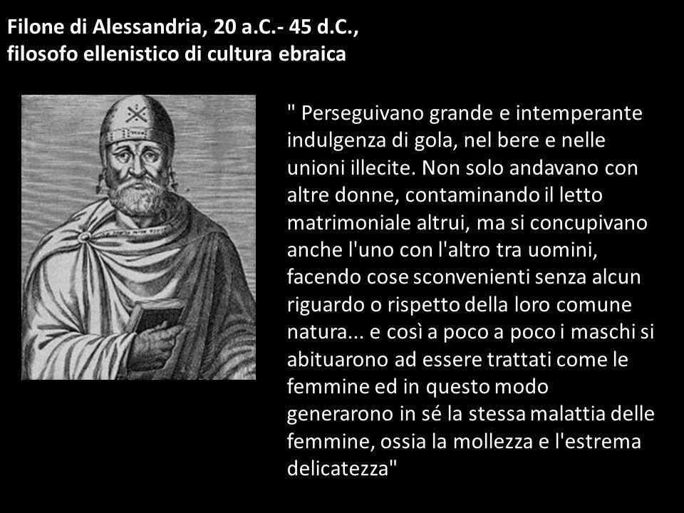 Filone di Alessandria, 20 a.C.- 45 d.C.,