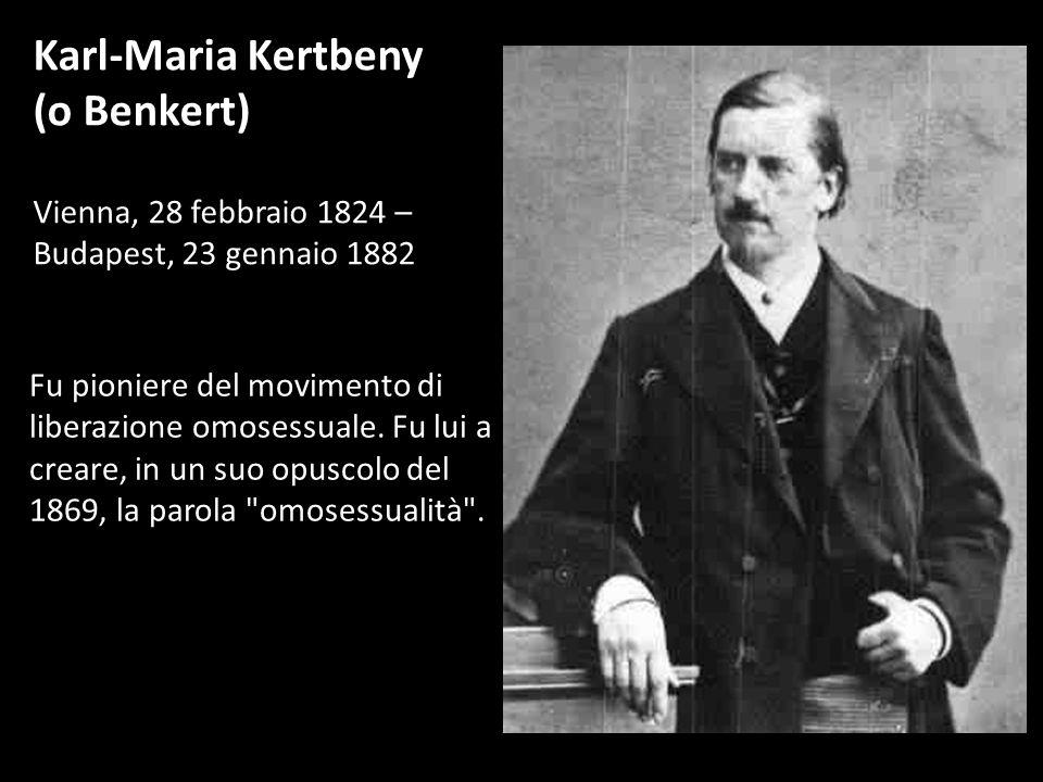 Karl-Maria Kertbeny (o Benkert)