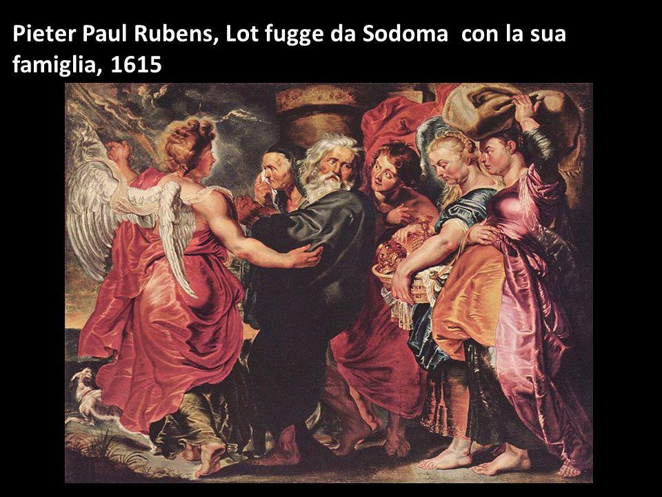Pieter Paul Rubens, Lot fugge da Sodoma con la sua famiglia, 1615