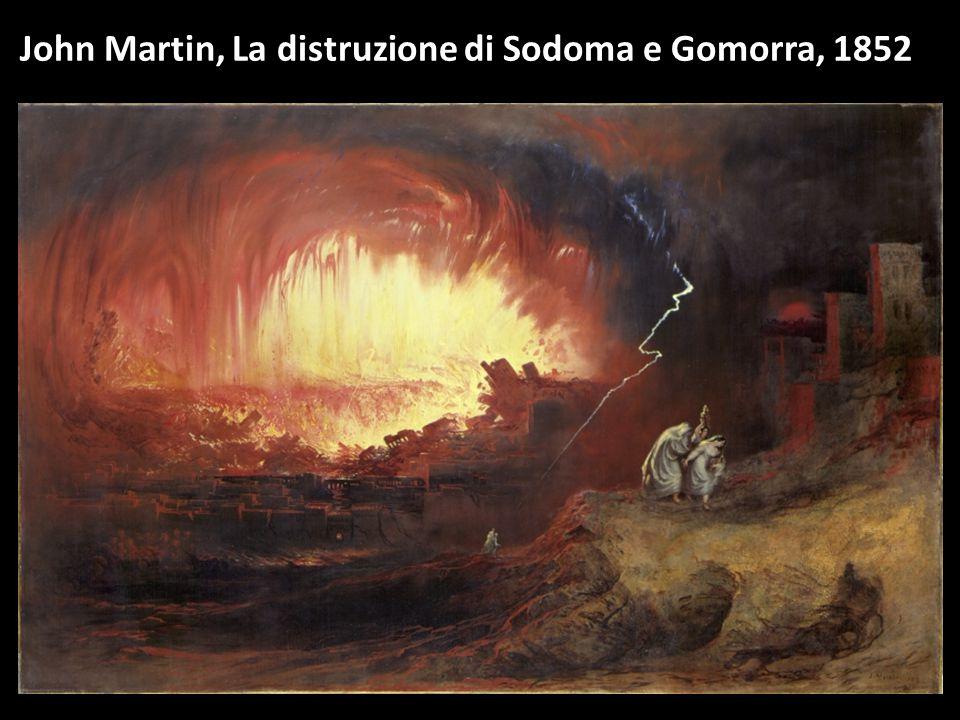 John Martin, La distruzione di Sodoma e Gomorra, 1852