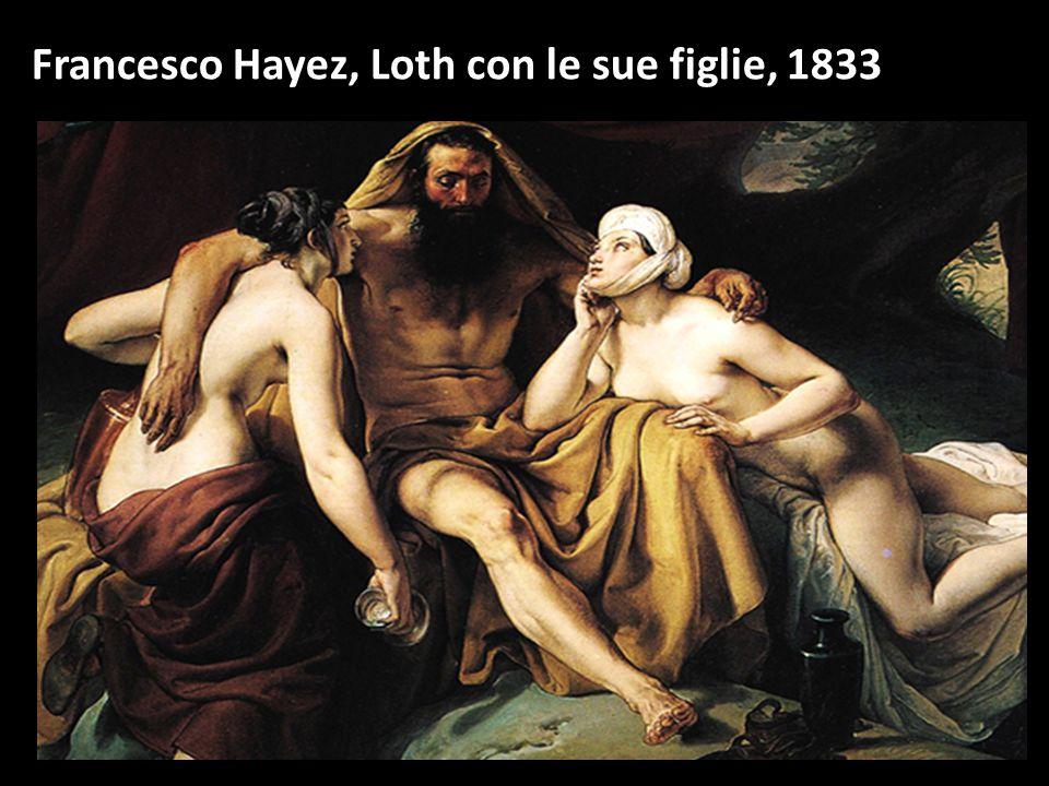 Francesco Hayez, Loth con le sue figlie, 1833