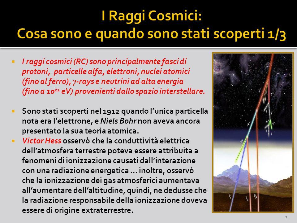 I Raggi Cosmici: Cosa sono e quando sono stati scoperti 1/3