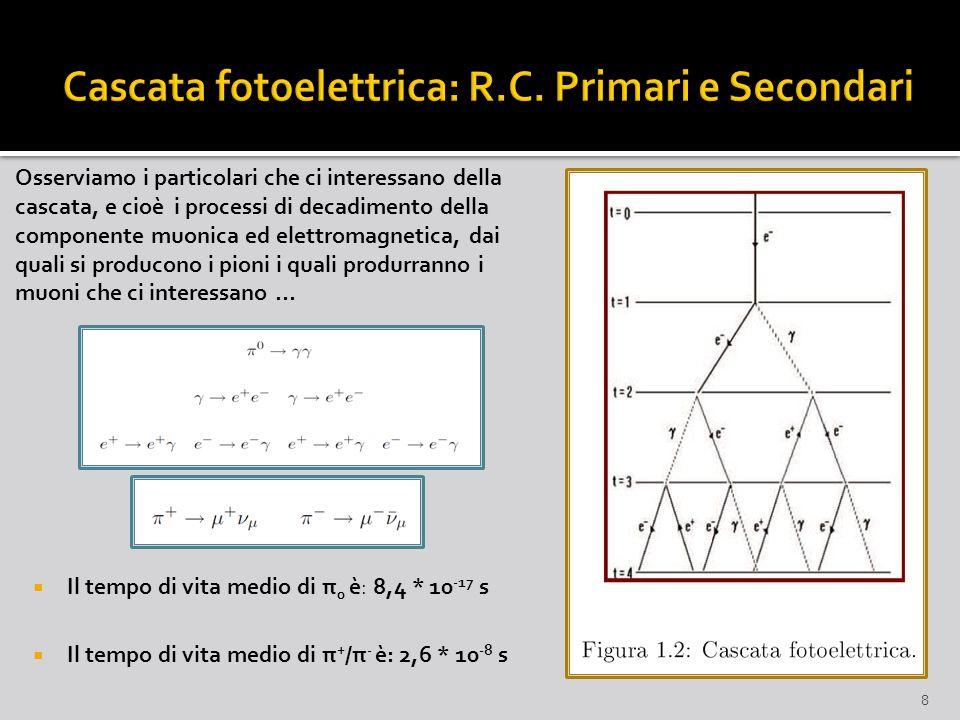 Cascata fotoelettrica: R.C. Primari e Secondari
