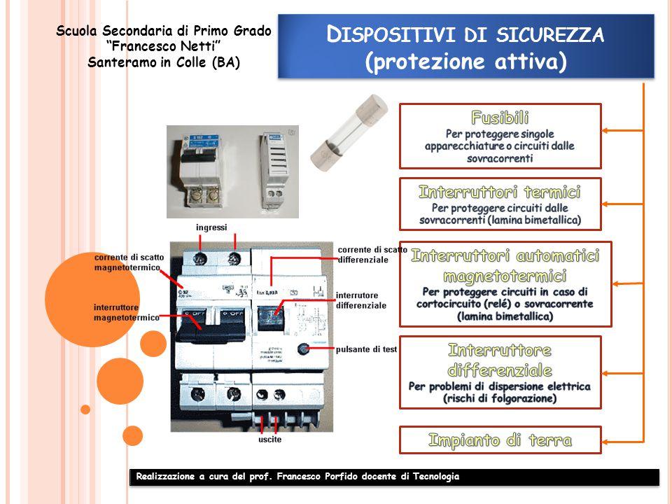 Dispositivi di sicurezza (protezione attiva)