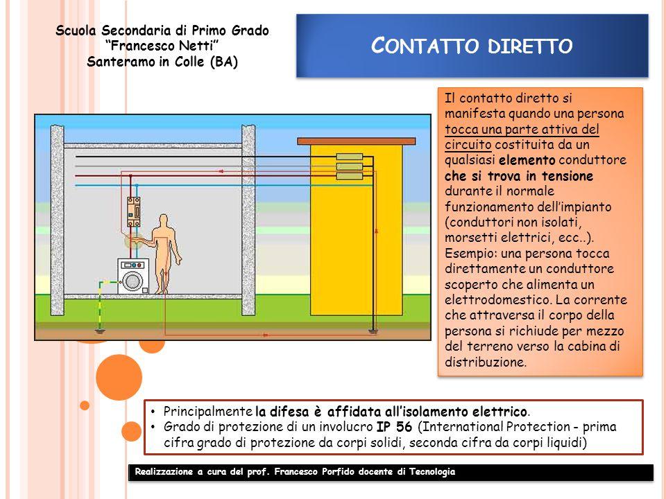 Realizzazione a cura del prof. Francesco Porfido docente di Tecnologia