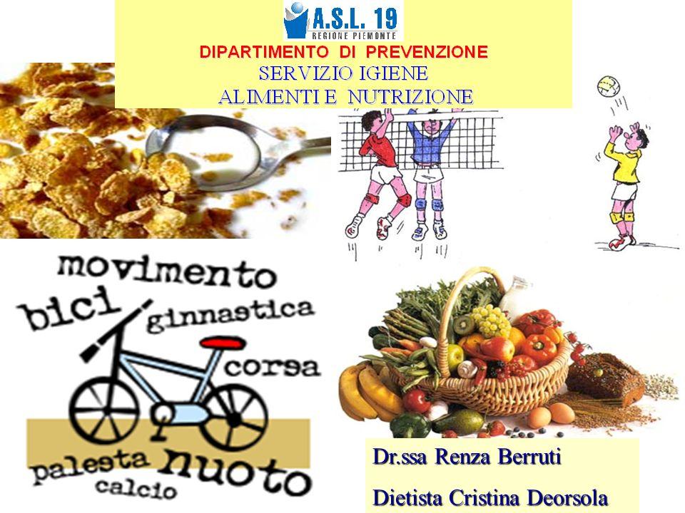 Dr.ssa Renza Berruti Dietista Cristina Deorsola