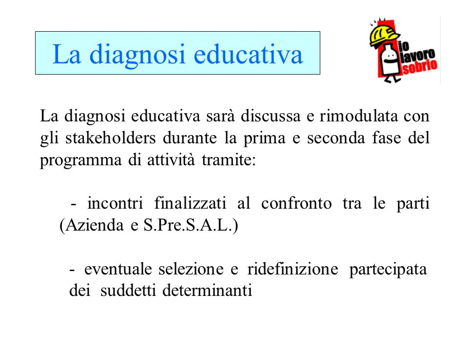 La diagnosi educativa