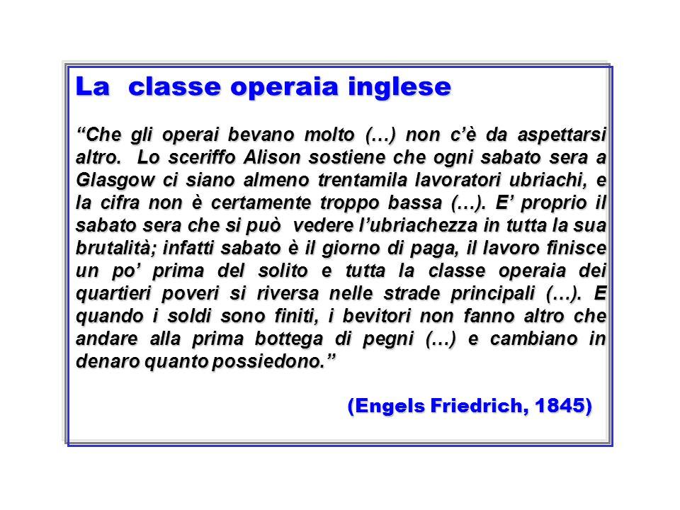 La classe operaia inglese