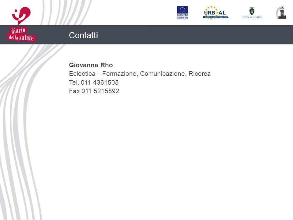 Contatti Giovanna Rho Eclectica – Formazione, Comunicazione, Ricerca