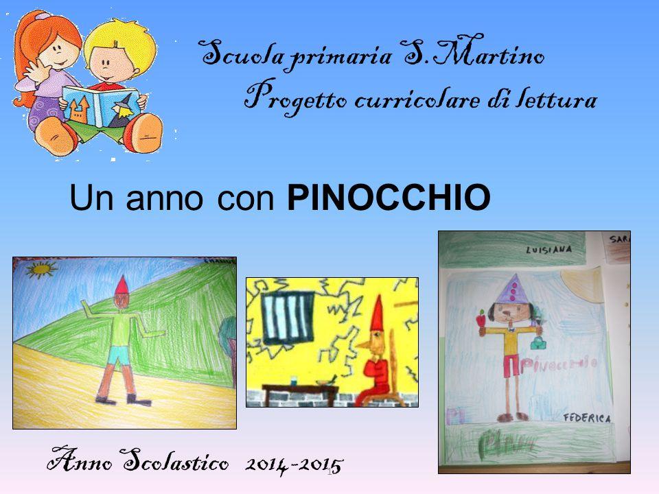 Scuola primaria S.Martino Progetto curricolare di lettura